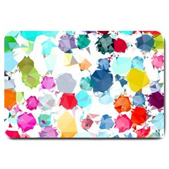 Colorful Diamonds Dream Large Doormat