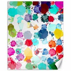 Colorful Diamonds Dream Canvas 11  x 14