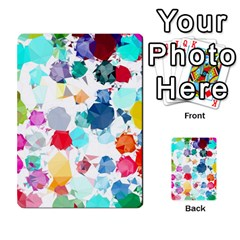 Colorful Diamonds Dream Multi Purpose Cards (rectangle)