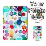Colorful Diamonds Dream Multi-purpose Cards (Rectangle)  Back 37