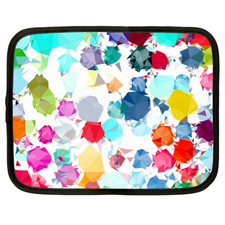 Colorful Diamonds Dream Netbook Case (Large)