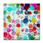 Colorful Diamonds Dream Face Towel Front