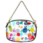 Colorful Diamonds Dream Chain Purses (Two Sides)  Front