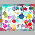 Colorful Diamonds Dream Canvas 16  x 12  16  x 12  x 0.875  Stretched Canvas