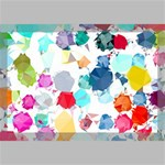 Colorful Diamonds Dream Canvas 18  x 12  18  x 12  x 0.875  Stretched Canvas