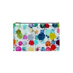 Colorful Diamonds Dream Cosmetic Bag (Small)  Front