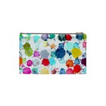 Colorful Diamonds Dream Cosmetic Bag (Small)  Back