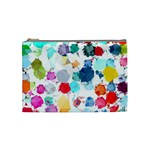 Colorful Diamonds Dream Cosmetic Bag (Medium)  Front