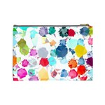Colorful Diamonds Dream Cosmetic Bag (Large)  Back