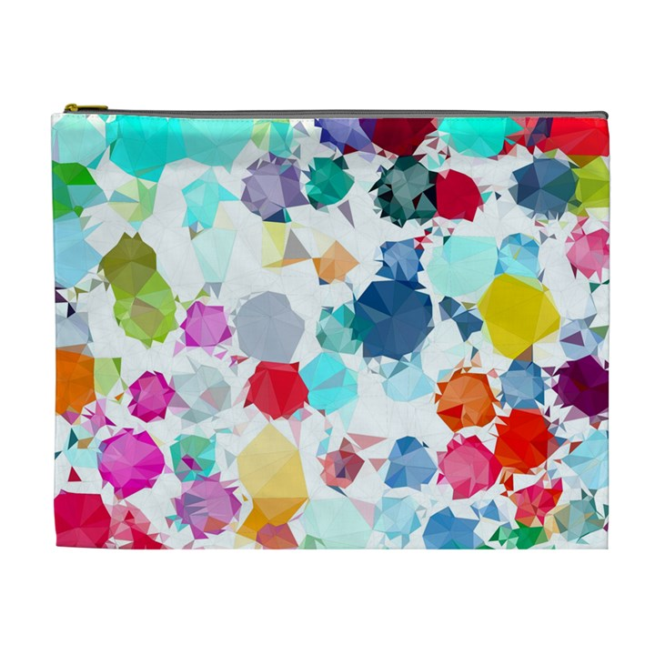 Colorful Diamonds Dream Cosmetic Bag (XL)