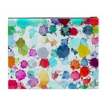 Colorful Diamonds Dream Cosmetic Bag (XL) Back