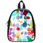 Colorful Diamonds Dream School Bags (Small)  Front