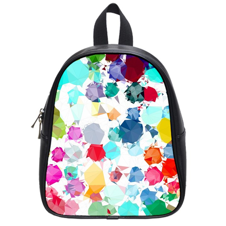 Colorful Diamonds Dream School Bags (Small)