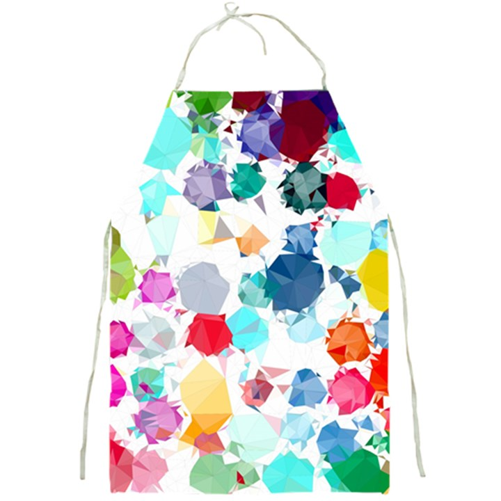 Colorful Diamonds Dream Full Print Aprons