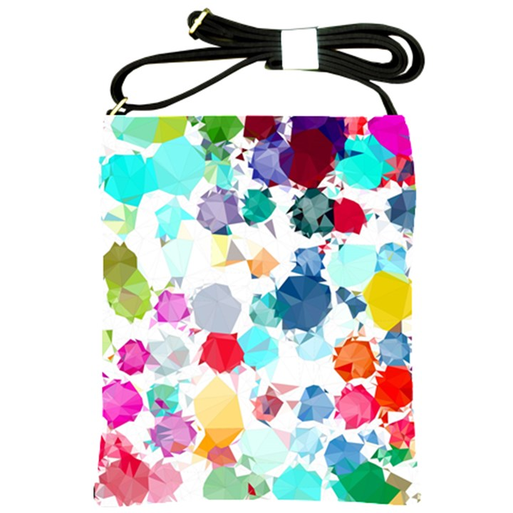 Colorful Diamonds Dream Shoulder Sling Bags
