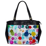 Colorful Diamonds Dream Office Handbags Front