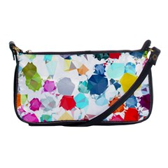 Colorful Diamonds Dream Shoulder Clutch Bags