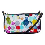 Colorful Diamonds Dream Shoulder Clutch Bags Front