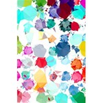 Colorful Diamonds Dream 5.5  x 8.5  Notebooks Front Cover Inside