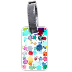 Colorful Diamonds Dream Luggage Tags (one Side)