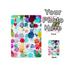 Colorful Diamonds Dream Playing Cards 54 (Mini)  Front - Heart4