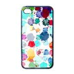 Colorful Diamonds Dream Apple iPhone 4 Case (Black) Front