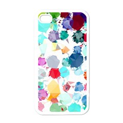 Colorful Diamonds Dream Apple iPhone 4 Case (White)