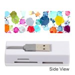 Colorful Diamonds Dream Memory Card Reader (Stick)  Front