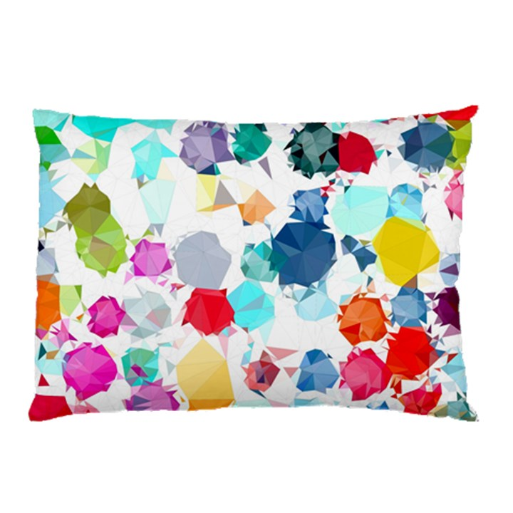 Colorful Diamonds Dream Pillow Case (Two Sides)