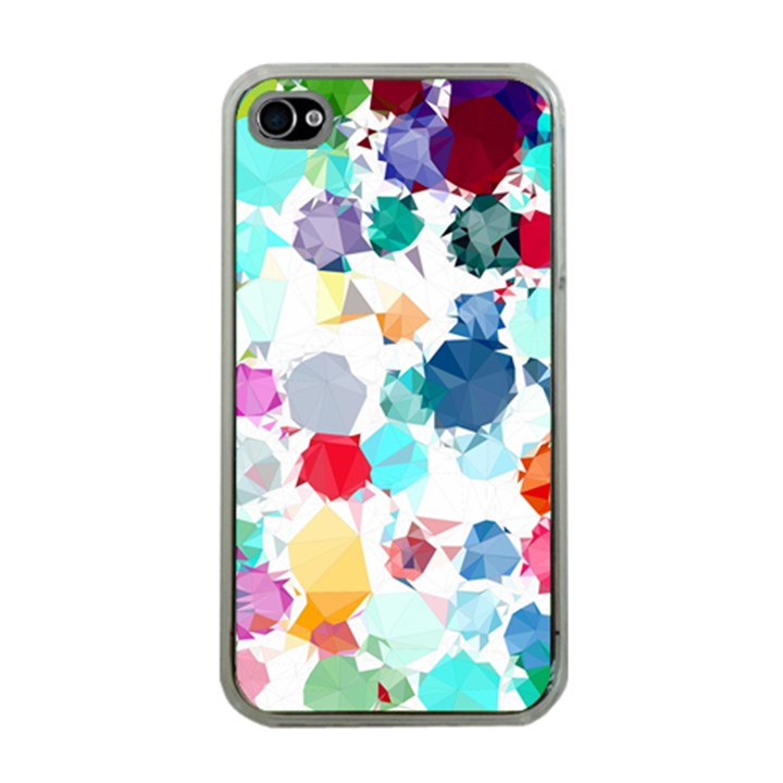 Colorful Diamonds Dream Apple iPhone 4 Case (Clear)
