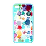 Colorful Diamonds Dream Apple iPhone 4 Case (Color) Front