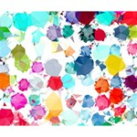 Colorful Diamonds Dream Deluxe Canvas 14  x 11  14  x 11  x 1.5  Stretched Canvas