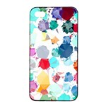 Colorful Diamonds Dream Apple iPhone 4/4s Seamless Case (Black) Front