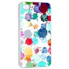 Colorful Diamonds Dream Apple iPhone 4/4s Seamless Case (White)