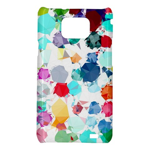 Colorful Diamonds Dream Samsung Galaxy S2 i9100 Hardshell Case