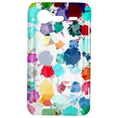 Colorful Diamonds Dream HTC Incredible S Hardshell Case