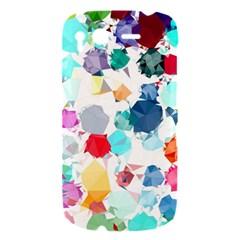 Colorful Diamonds Dream HTC Desire S Hardshell Case