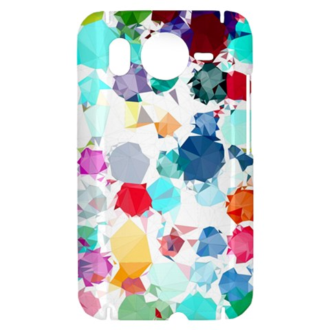 Colorful Diamonds Dream HTC Desire HD Hardshell Case