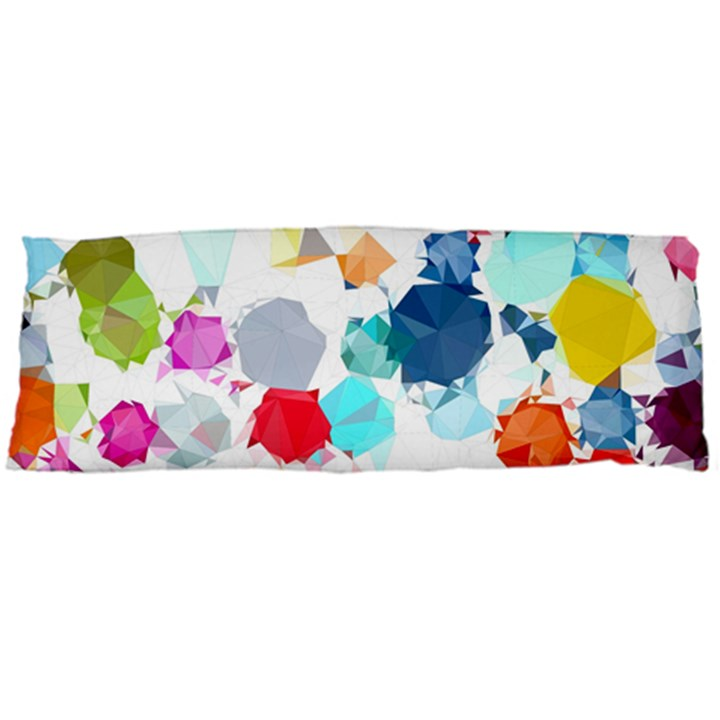 Colorful Diamonds Dream Body Pillow Case (Dakimakura)