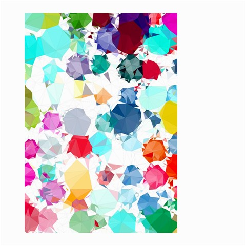 Colorful Diamonds Dream Small Garden Flag (Two Sides)