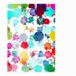 Colorful Diamonds Dream Large Garden Flag (Two Sides) Front