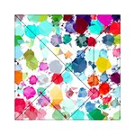 Colorful Diamonds Dream Acrylic Tangram Puzzle (6  x 6 ) Front