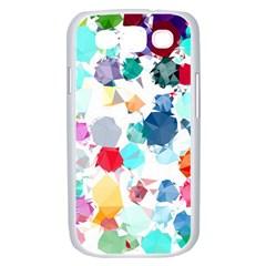 Colorful Diamonds Dream Samsung Galaxy S III Case (White)