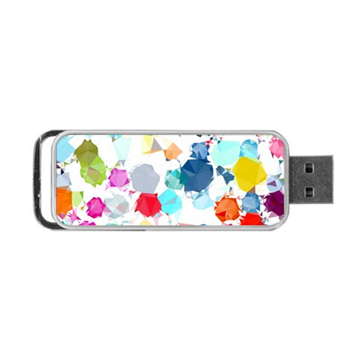 Colorful Diamonds Dream Portable USB Flash (One Side)