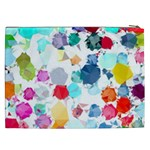 Colorful Diamonds Dream Cosmetic Bag (XXL)  Back
