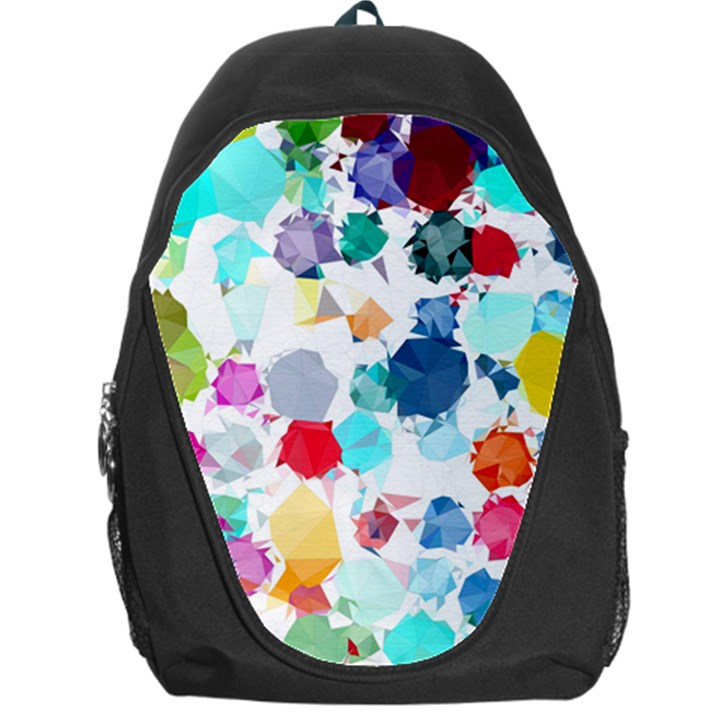 Colorful Diamonds Dream Backpack Bag