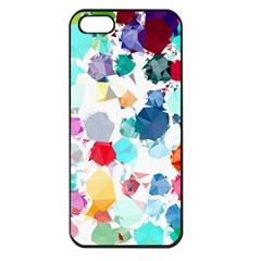 Colorful Diamonds Dream Apple Iphone 5 Seamless Case (black)