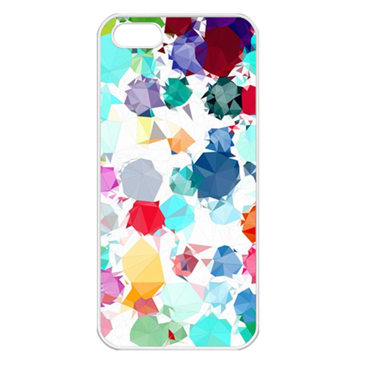 Colorful Diamonds Dream Apple iPhone 5 Seamless Case (White)