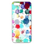 Colorful Diamonds Dream Apple Seamless iPhone 5 Case (Clear) Front