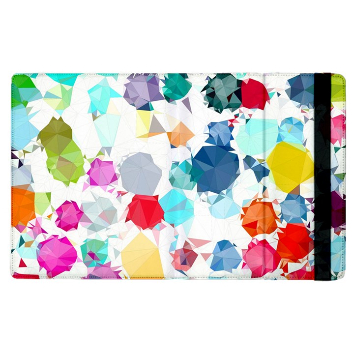 Colorful Diamonds Dream Apple iPad 2 Flip Case